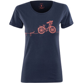 Triple2 Laag Bike T-Shirt Women Peacoat